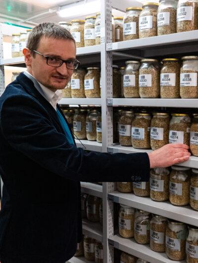 Grzegorz Gryziak, Manager of Seed Storage