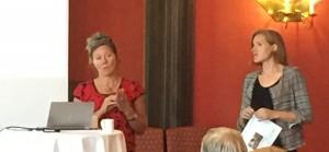 Gunhild Ørstavik og Siri Luthen fra ForUM