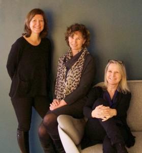 Fra venstre: Kristin Holter, Aase Gundersen og Gro Nystuen. Foto: ILPI