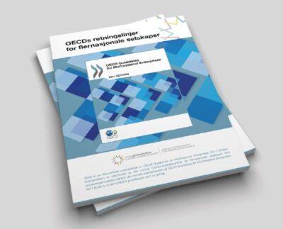 Illustrasjonsbilde - OECD retningslinjer, en stabel med hefter