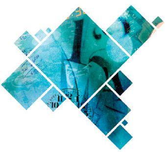 |Illustrasjon med transparent profilelement og utsnitt av illustrasjon i profilelementform.