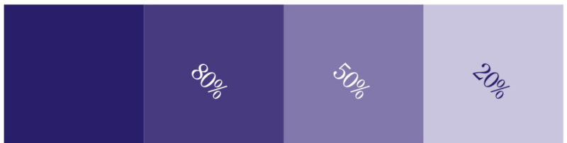 LILLA farger: PMS. 274 CCMYK: 100, 100, 0, 28RGB: 34, 31, 114WEB: #221F72
