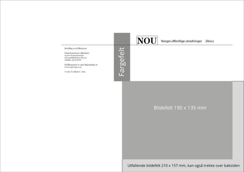 Visning av format på NOU forsidebilde