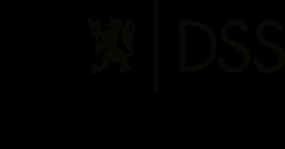 DSS-logo med høyrestilt avdelingsnavn