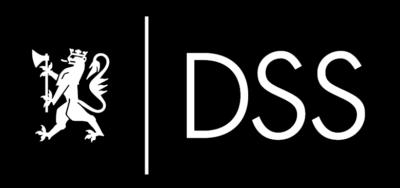 hvit (negativ) hovedlogo for DSS