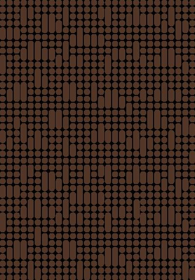 KD mønsterelement brun