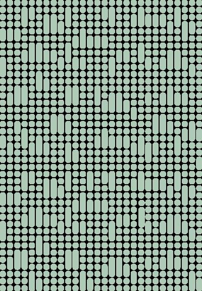 KD mønsterelement turkis