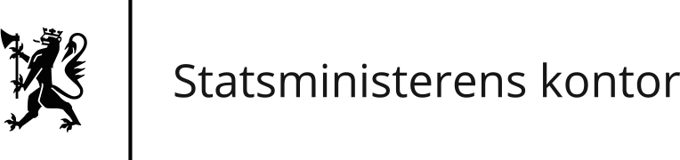 Statsministerens kontor standard logo