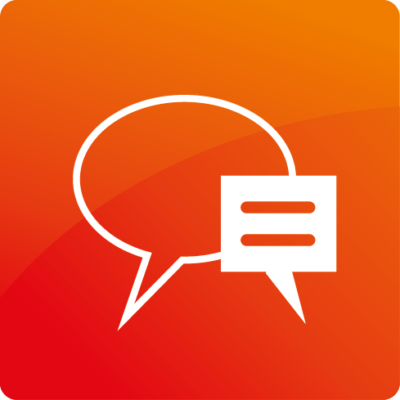 03 dialog orange