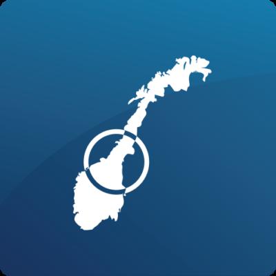 29 regioner midt-norge blå