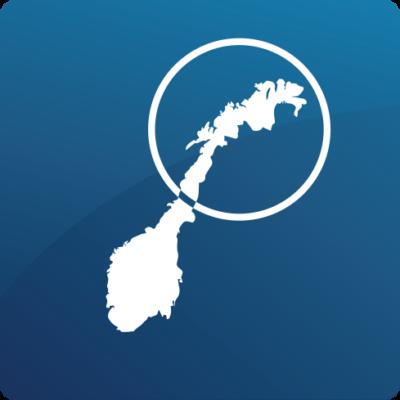29 regioner nord-norge blå
