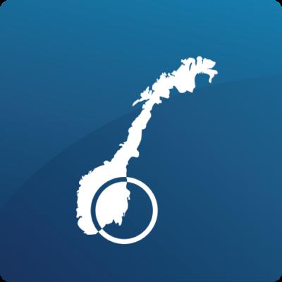 29 regioner øst-norge blå