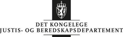 JD nynorsk sort logo