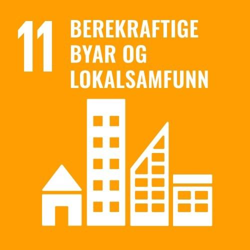 11. Bærekraftig byer og lokalsamfunn