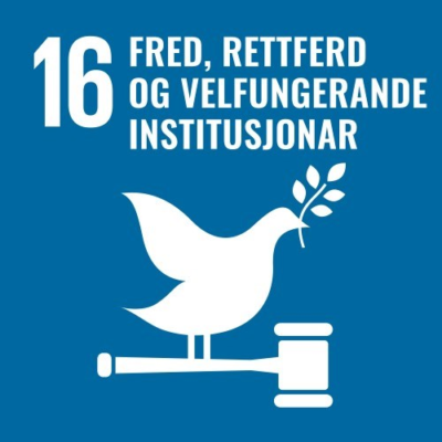 16. Fred, velferd og velfungerende institusjoner