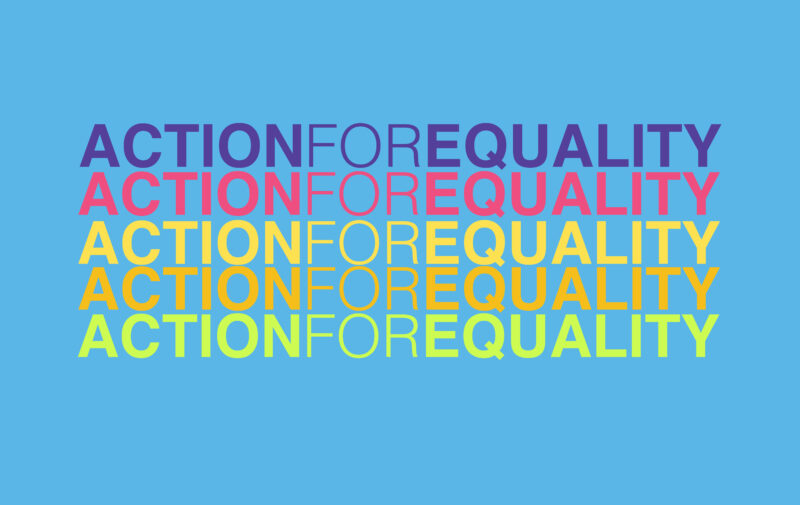 Plakat ActionForEquality