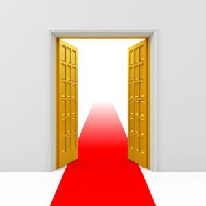 Åpne dører