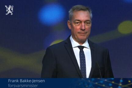 Minister Frank Bakke Jensen